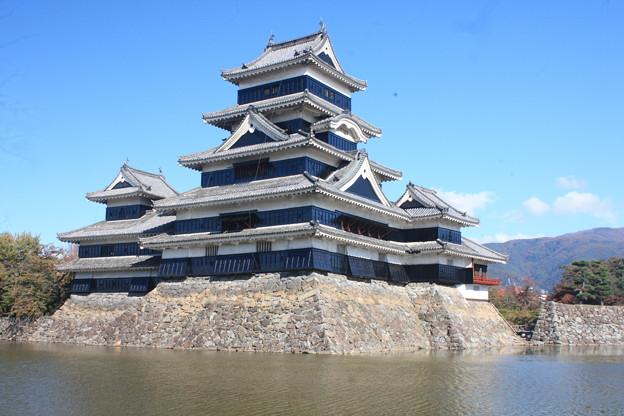 日本国 長野県 松本市 国宝 松本城