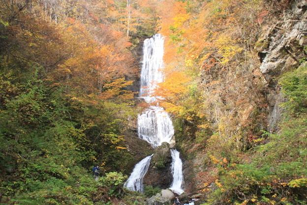 日本国 長野県 木曽町 唐沢の滝