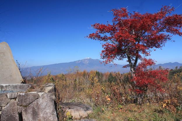 日本国 岐阜県 高山市 高根町 チャオ御嶽スノーリゾート付近からの乗鞍岳
