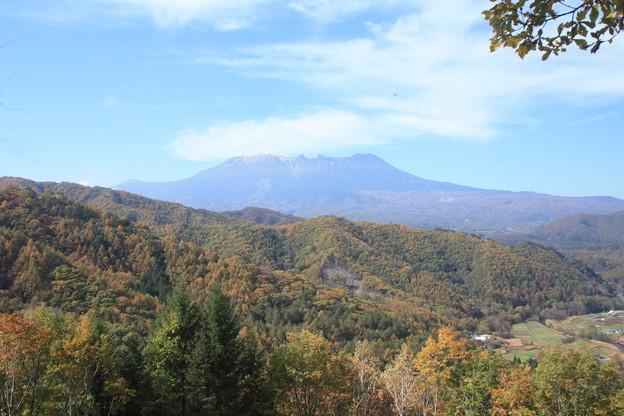 日本国 長野県 木曽町 地蔵峠からの御嶽山