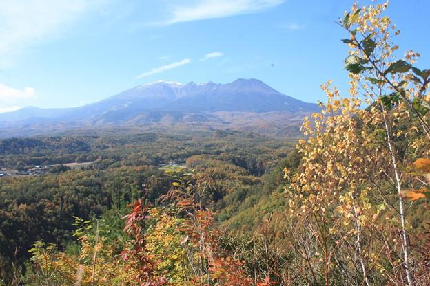 日本国 長野県 木曽町 開田高原 国道361号九蔵峠からの御嶽山