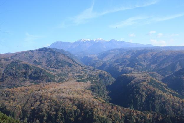 日本国 岐阜県 下呂市 都道府県道441号 展望台からの御嶽山