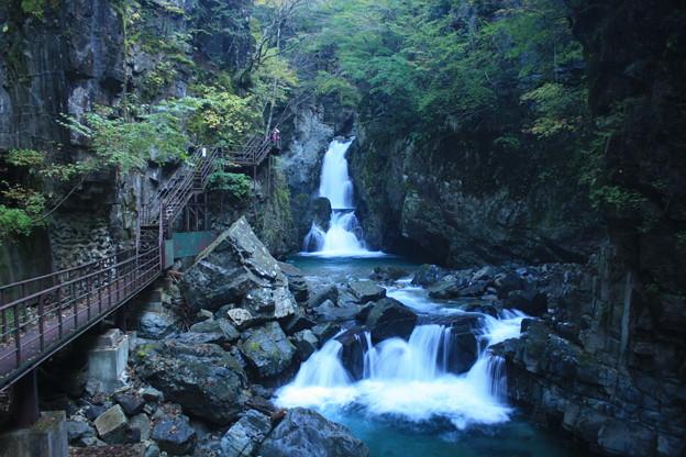 日本国 岐阜県 下呂市 小坂町 小坂の滝三つ滝