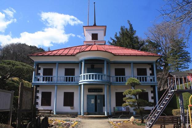 日本国 山梨県 都留市 小形山 郷土資料館