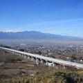 Photos: 日本国 山梨県 笛吹市 八代町 花鳥山展望台からの風景 北西側