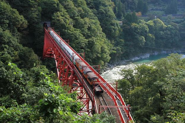 2474 黒部渓谷トロッコ列車@富山
