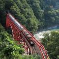写真: 2474 黒部渓谷トロッコ列車@富山