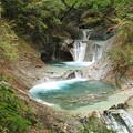 写真: 2476 西沢渓谷 七ツ釜五段の滝@山梨