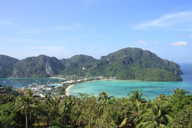 2510 ピピ島の絶景@タイ