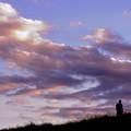 写真: 故郷の空