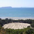 燧灘の絶景~銭形砂絵