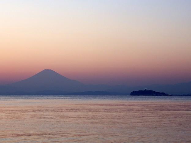 Photos: 葉山海岸から望むマジックアワー