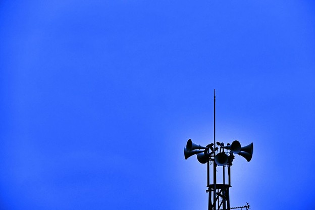 写真: 防災無線