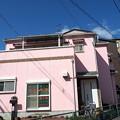 ピンクの家
