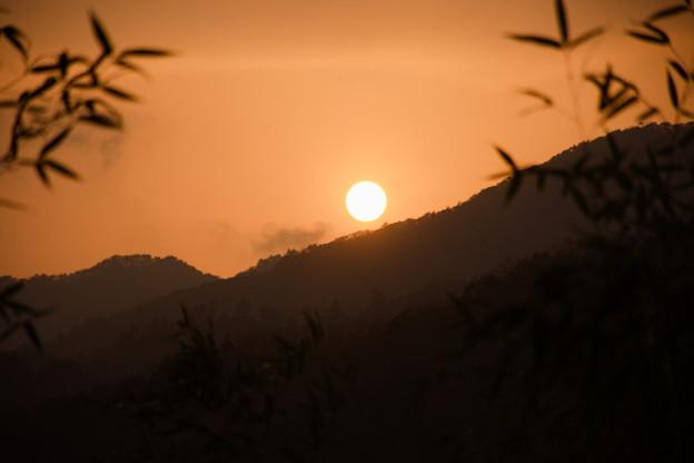 兵庫の夕日