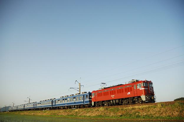 急行津軽 ED75+12系