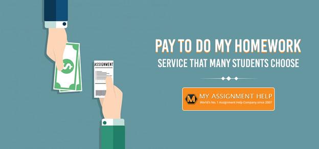 Pay to Do My Homework Service