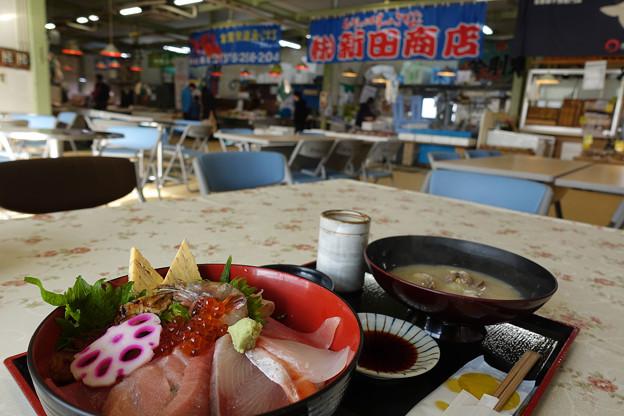 いきいき魚市海鮮丼¥1780