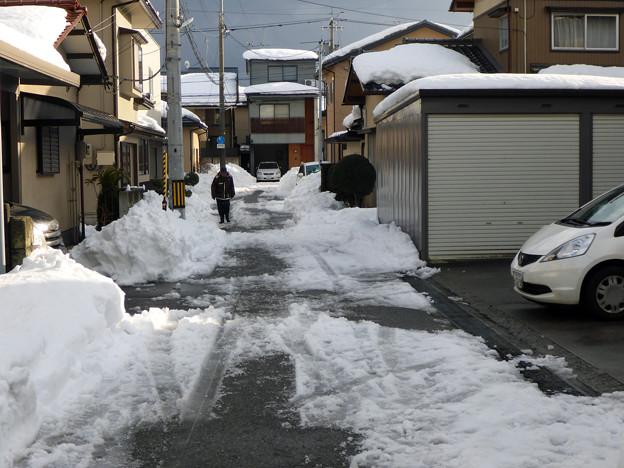 Photos: 除雪完了