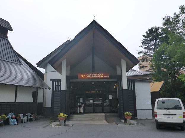 01_日進館玄関