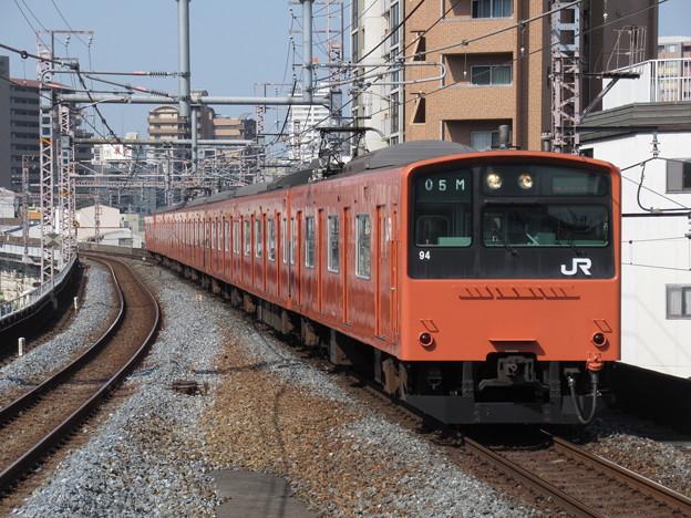 大阪環状線201系 LB9編成