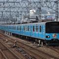 東武伊勢崎線50050系 51056F【クレしんラッピング・風間くんHM】