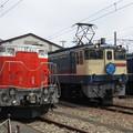 Photos: DD51 842・EF65 2139・EF65 501 3並び