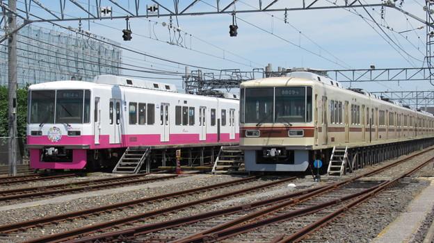 新京成8814F・8809F 2並び