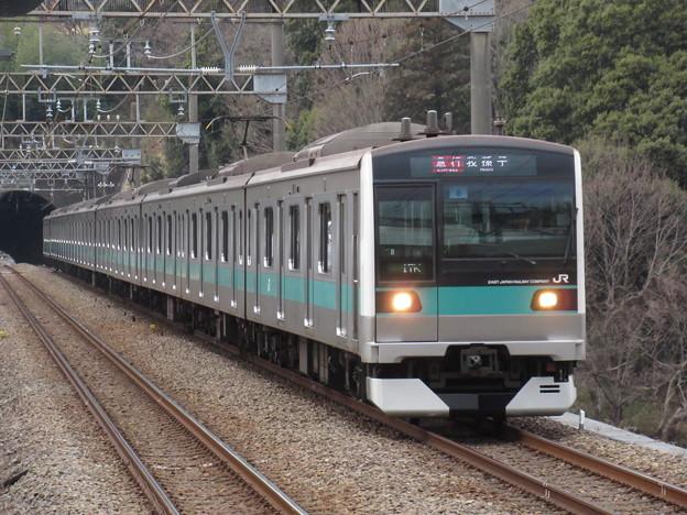 Photos: 常磐緩行線E233系2000番台 マト8編成