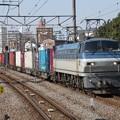 Photos: EF66 118+コキ
