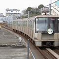 写真: 横浜市営グリーンライン10000形 10111F【グリーンライン10周年HM】