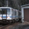 写真: 三江線キハ120形300番台 キハ120-315+キハ120-357