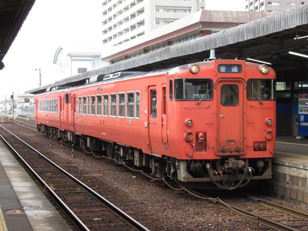 山口線キハ40系 キハ40 2071+キハ40 2075