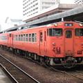 写真: 山口線キハ40系 キハ40 2071+キハ40 2075