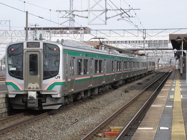 東北線E721系1000番台 P4-19+F2-509編成