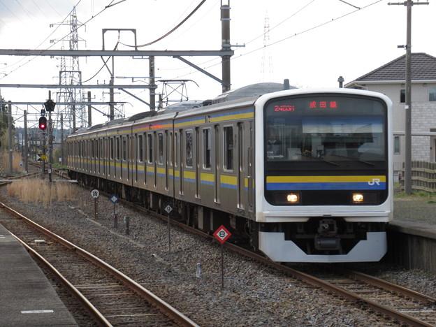成田線209系2100番台 C603編成