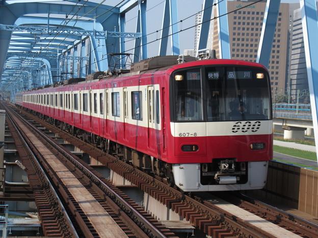 京急線600形 607F+1461F