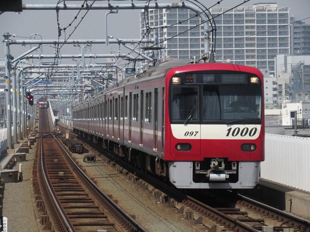 写真: 京急線新1000形 1097F