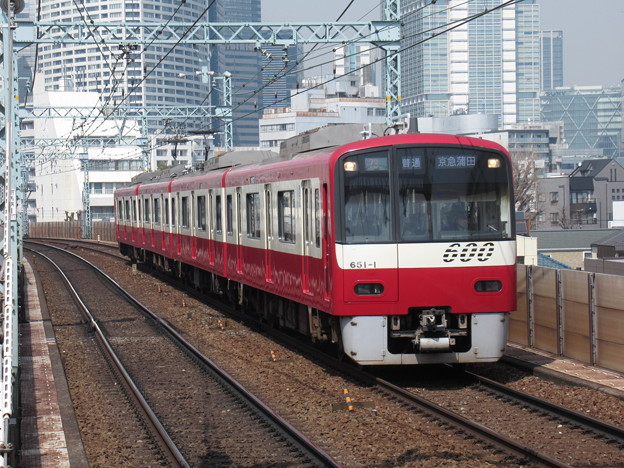 京急線600形 651F