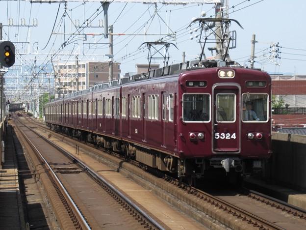 阪急京都線5300系 5324F