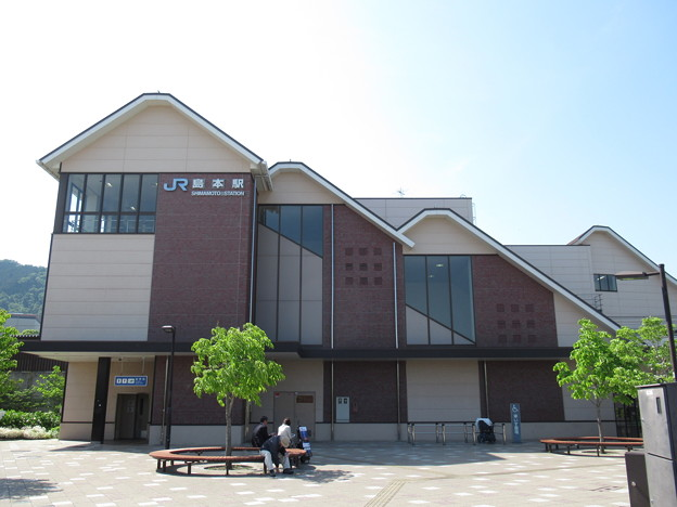 [JR西日本]島本駅