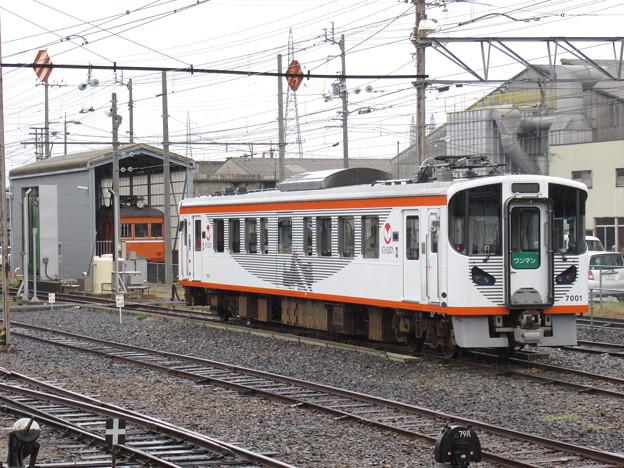 一畑電車7000系 デハ7001