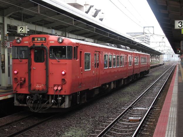 山陰線キハ47系 キハ47 141+キハ47 2006