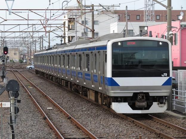 常磐線E531系 K466編成