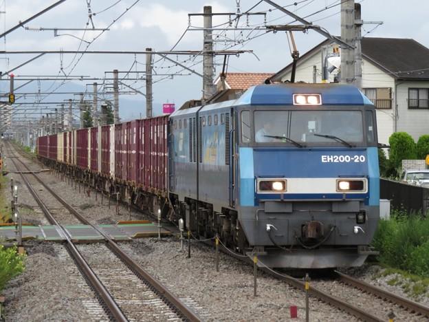 Photos: EH200-20+コキ