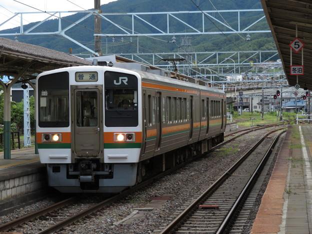 Photos: 飯田線213系5000番台 H12編成