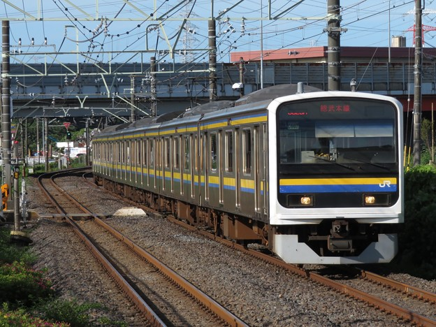 総武線209系2100番台 C607編成