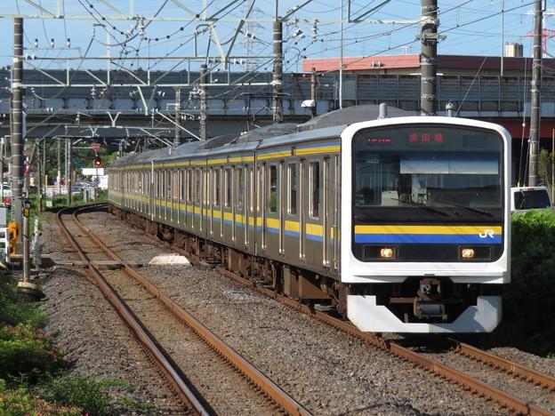 成田線209系2100番台 C432+C429編成
