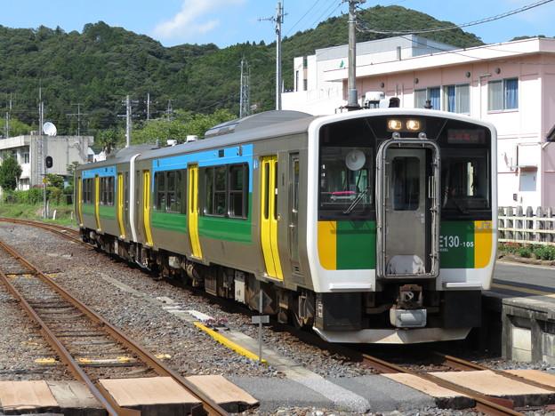 久留里線キハE130系100番台 キハE130-105+キハE130-103