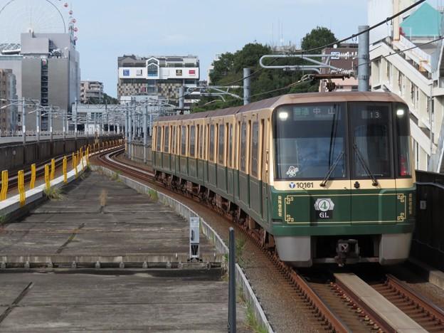 横浜市営グリーンライン10000形 10161F【グリーンライン開業10周年記念装飾列車】